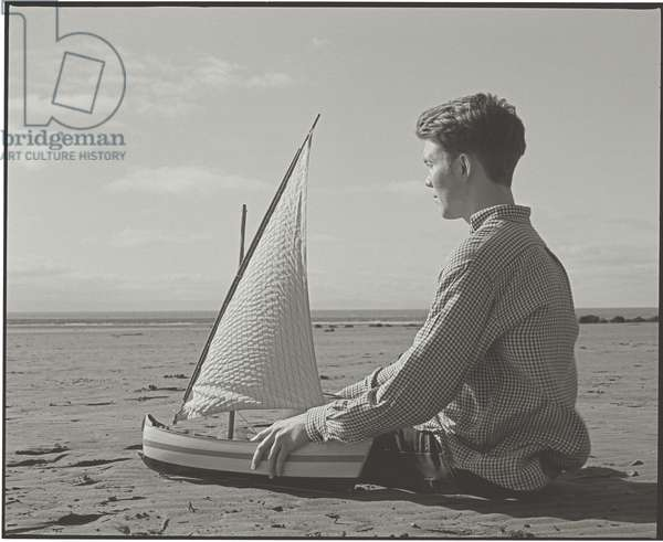 Mike and the Boat, 2012, (photography)