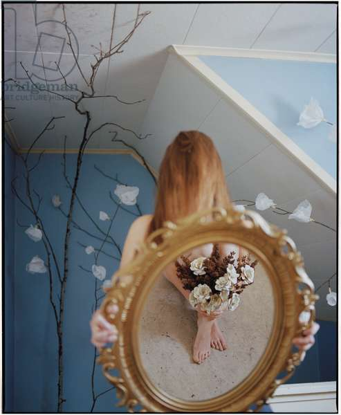 Flowers in the Mirror, 2017, (photography)