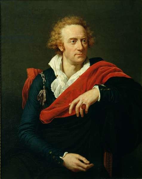 Portrait of Vittorio Alfieri (1749-1803) (oil on canvas)