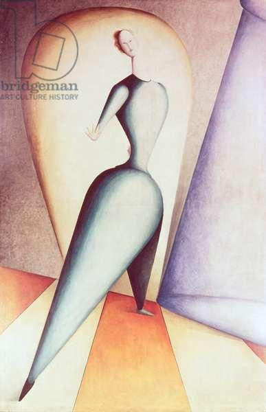 The Dancer, 1922-23 (oil on canvas)