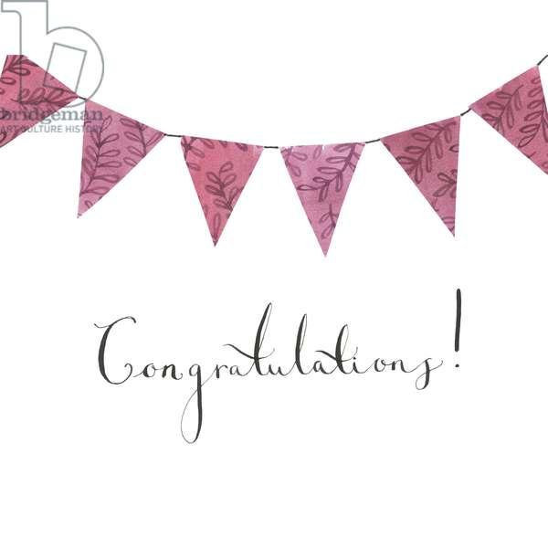 Congratulations Bunting