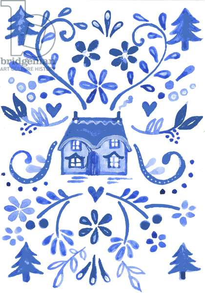 Blue Cottage