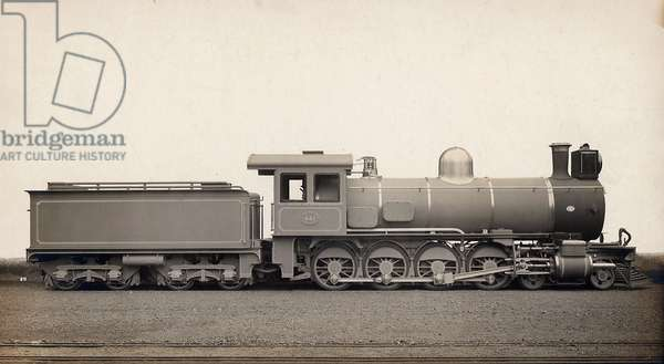 A locomotive of Central-South-African-Railways. London