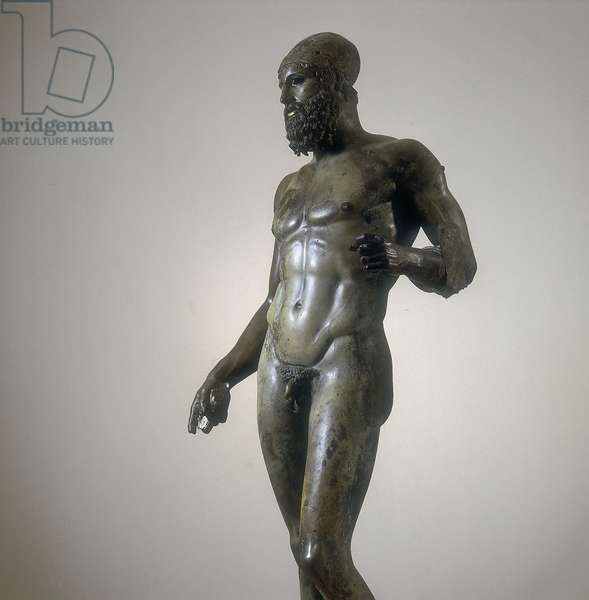 Riace Warrior B (bronze)