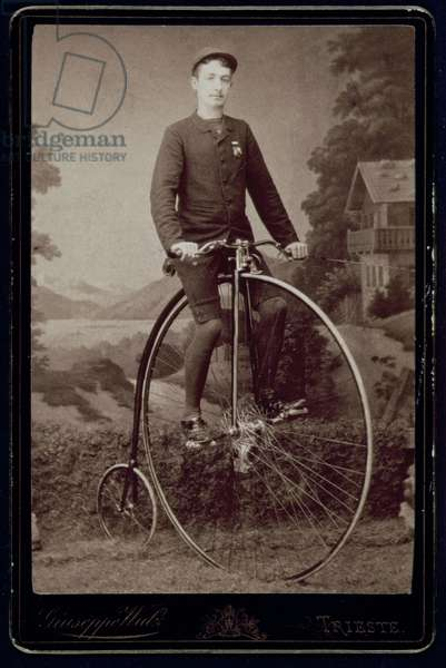The Cyclist (silver bromide gelatin print)