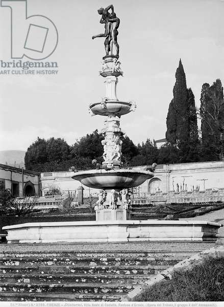 Fountain of Hercules and Antaeus, Villa Medicea di Castello, Florence