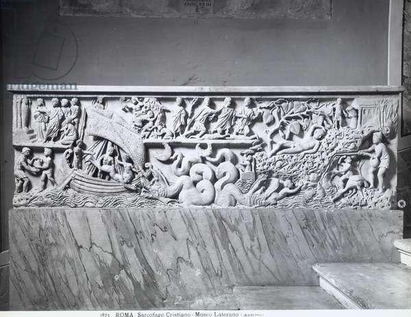 Early-Christian Sarcophagus (marble)