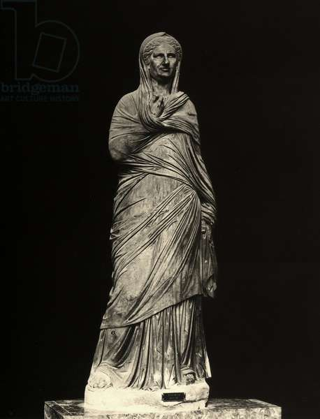 Viciria Arcate, wife of Balbus (marble)