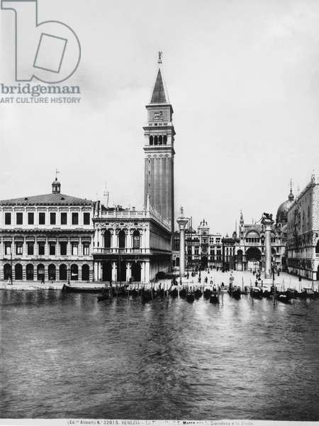 The Piazzetta San Marco in Venice, with the Library and the Zecca, or Mint