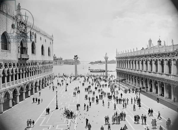 Palazzo Ducale and the Biblioteca Marciana, Piazza San Marco, Venice