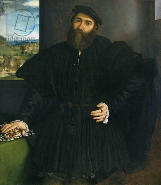 Portrait of the Widower Mercurio Bua, c.1535 (oil on canvas)