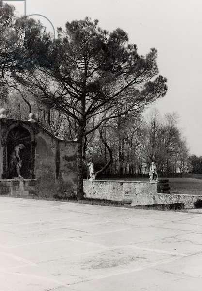 Detail of the garden of Villa Almerico-Capra, called La Rotonda, in Vicenza