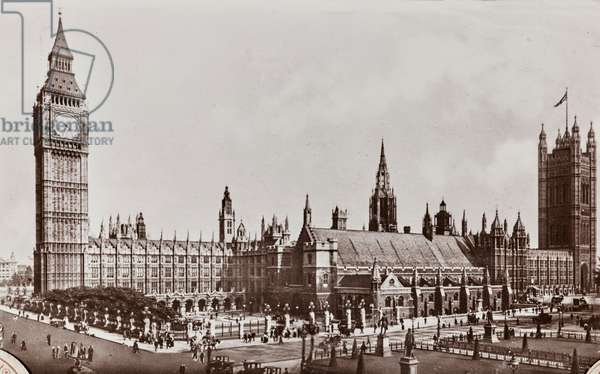 View of Westminster Palace, London