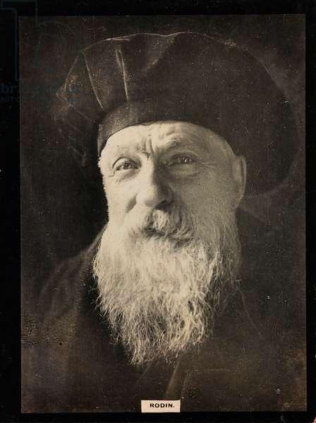 Auguste Rodin, 1910-17 (b/w photo)