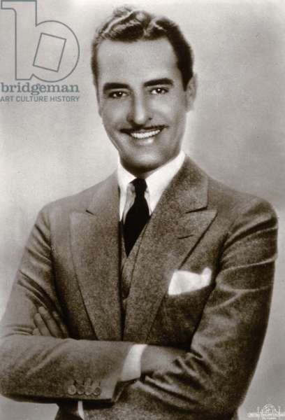 Portrait of the film actor John Gilbert