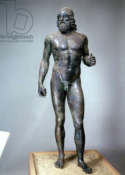 Riace Warrior A (bronze)