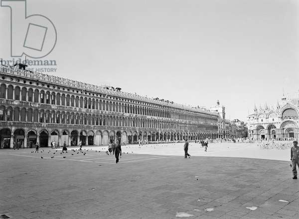 The Magistrates and the Basilica of San Marco, Piazza San Marco, Venice