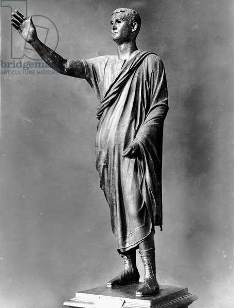 Statue of a Roman Orator (bronze)