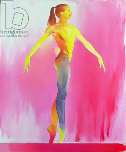 Darcy Bussell, 1994 (oil on canvas)