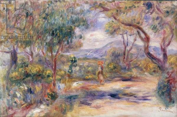 Paysage a Cannes (Renoir's Garden) c.1914 (oil on canvas)