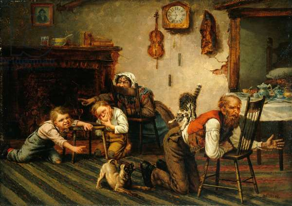Deacon Jones' Experience, 1863-83 (oil on canvas)
