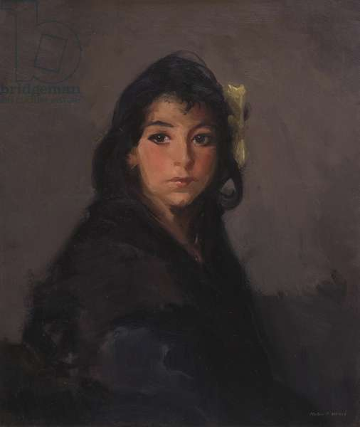 The Gypsy Girl (Barbina), 1912 (oil on canvas)
