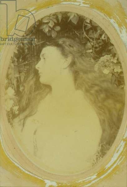 Althea (Alice Liddell), 1872 (albumen print)