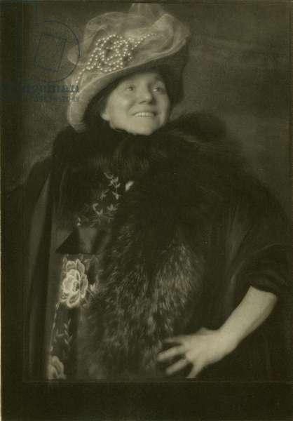 Vitality (Yvette Guilbert), 1901 (photogravure)