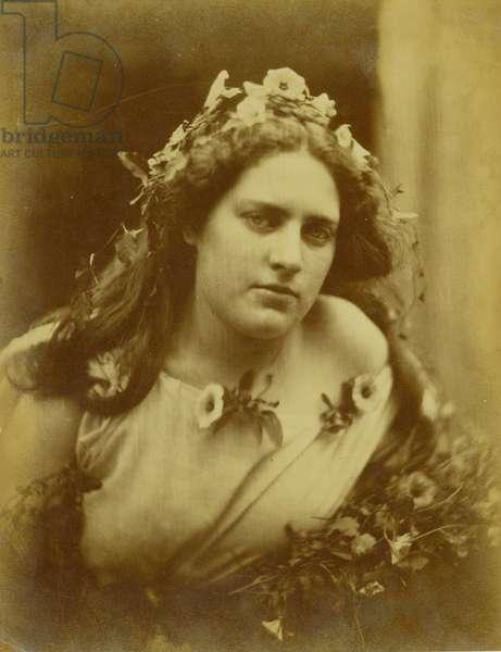 Cylene Wilson, c.1867 (albumen print)