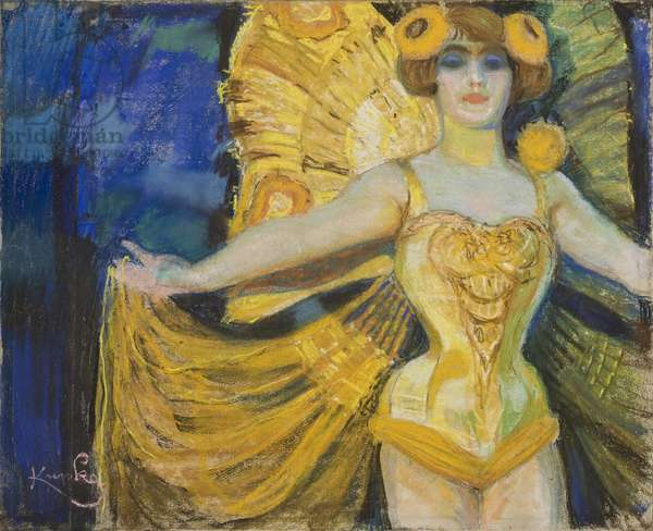 Show Girl, c.1900 (pastel on paper)