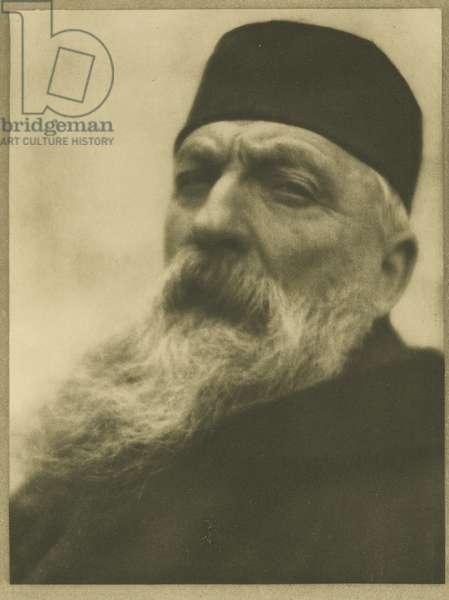 Auguste Rodin, Meudon, Plate IX from Men of Mark, 1906-13 (photogravure)