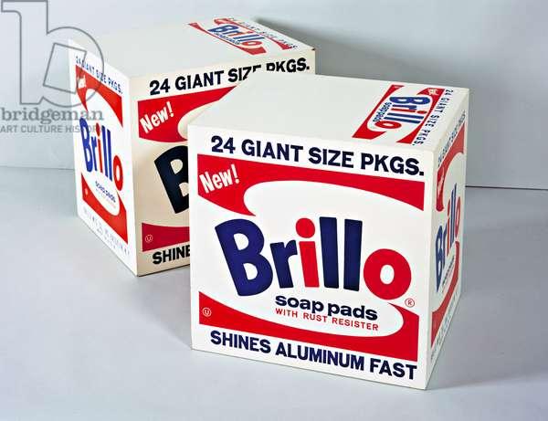 Brillo Boxes, 1964 (enamel on plywood)