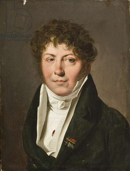 Portrait of a man, 1814-15 (oil on canvas)