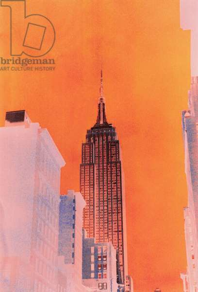 Empire State Building, 2000 (photo on w/c paper)