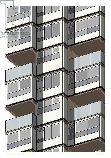 Lambeth Towers_Sepia