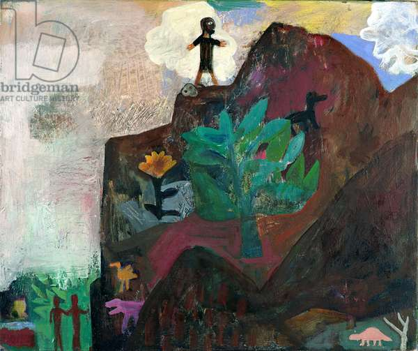 The Mountain, 1991 (oil on canvas)
