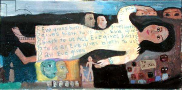Eve Gives Birth to Us All I, 1994 (oil on canvas) (see also 188639)