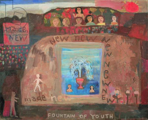 Fountain of Youth, 1996-98 (oil on canvas)