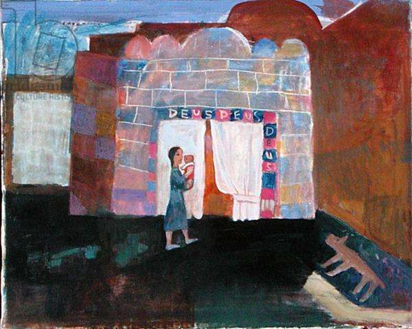 Presentation in the Temple II, 1994 (oil on canvas)