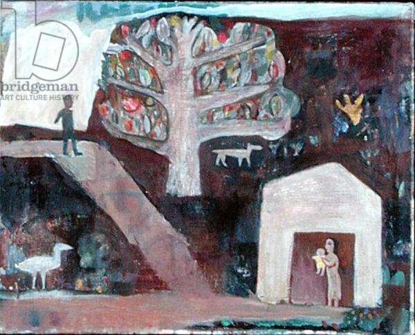 Nativity III, 1992-93 (oil on canvas)