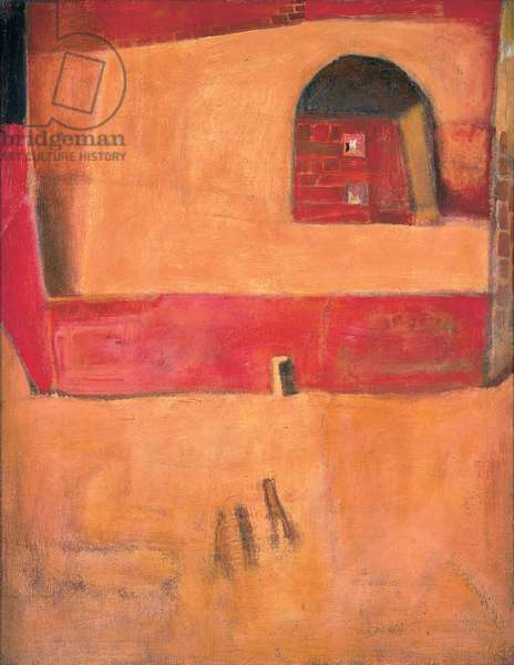 Interior Journey, 1963 (oil on canvas)