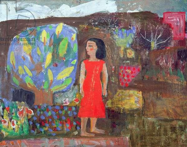 Mary Magdalene, 1995 (oil on board)