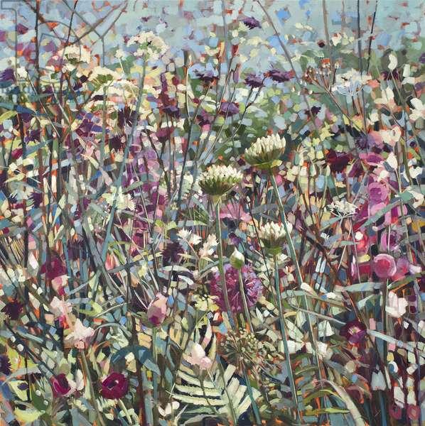 Wild Garden, 2016, (oil on linen)