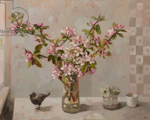 Apple Blossom, 2015 (oil on linen)