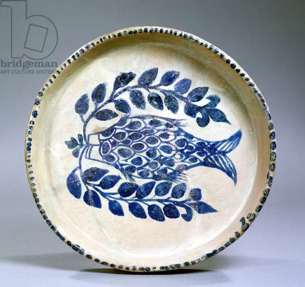 Dish, Abbasid period (750-1258) (earthenware)