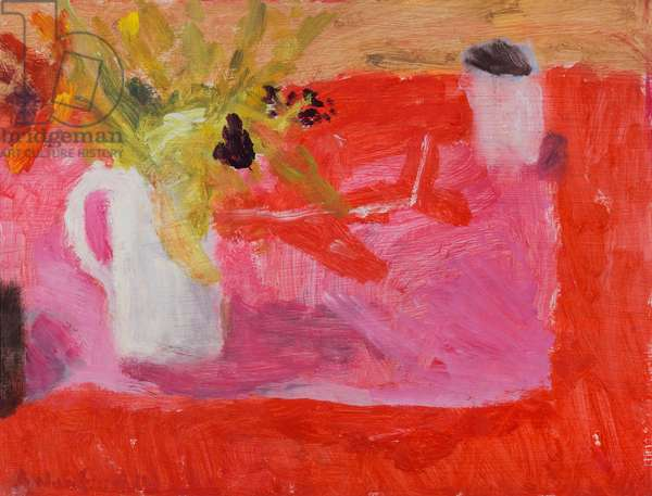 The Red Toy Plane, 2013 (oil on board)