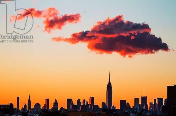 Manhattan Skyline, 2012
