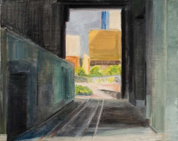 High Line 2, 2009, (oil on canvas)