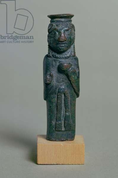Syro-Phoenician statuette (bronze)