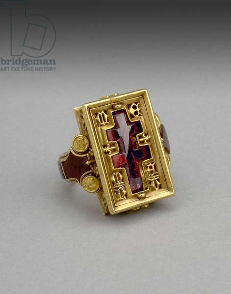 The Thame Ring (amethyst & gold)